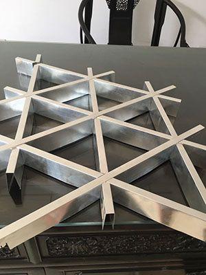 金属三角格栅