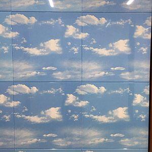 蓝天白云方通