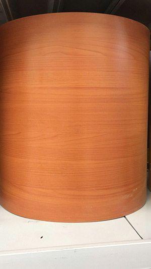 浅色木纹辊涂天花