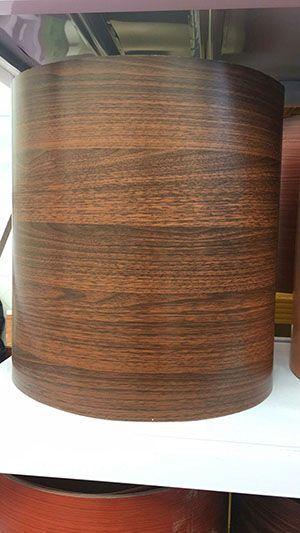 深棕辊涂木纹天花