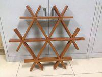 木纹三角格栅